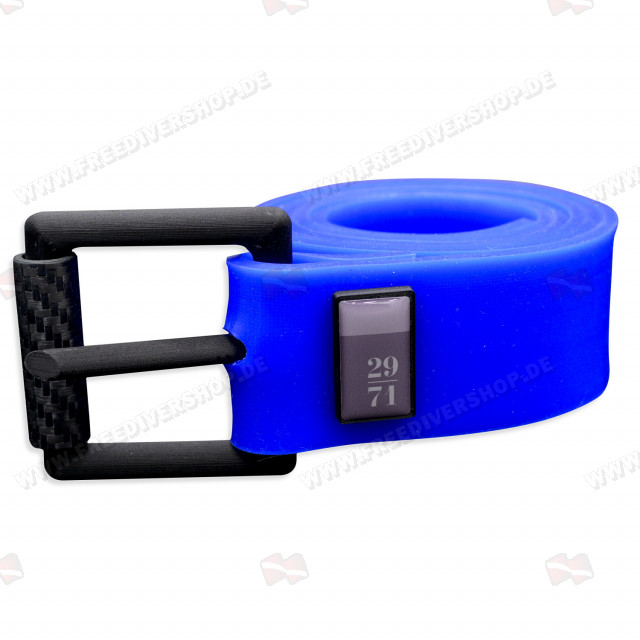 29/71 Blue Silicone Weight Belt