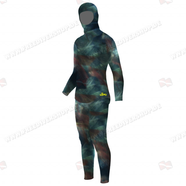 Elios Smoothskin Benthos Camouflage Wetsuit