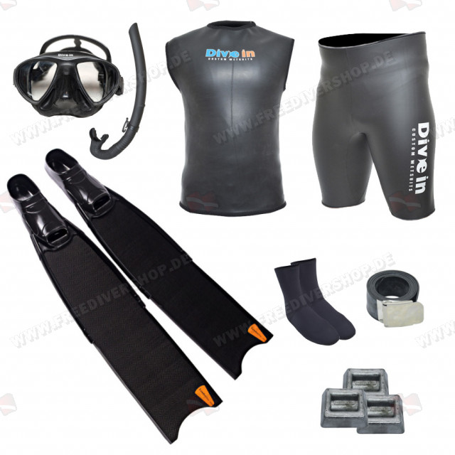 Freediving Carbon Kit
