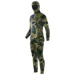 Elios Green Reef Camouflage - Maßgeschneiderter Tauchanzug