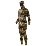 Elios Classic Brown Hydro Camouflage Tauchanzug