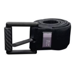 29/71 Black Silicone Weight Belt