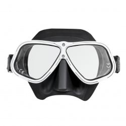 29/71 White Ergonomic Freediving Mask