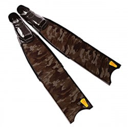 Leaderfins Wave Carbon Camo Fins + Fins Box