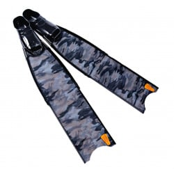 Leaderfins Wave Camo Fins + Fins Box