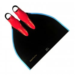 WaterWay Freediving Glide Monofin - Black Blade