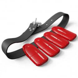 Lobster Freediving Weight Belt Set - Red