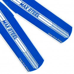 Deep Dive Xtasy Max Steel Blue Blades