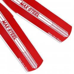 Deep Dive Xtasy Max Steel Red Blades