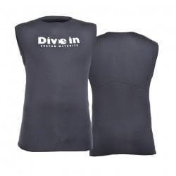Divein Black Neoprene Dive Vest