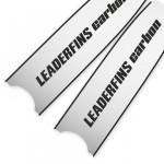Leaderfins Silver Mirror Blades - Limited Edition