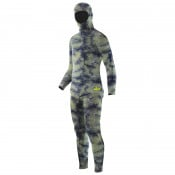 Elios Hyperstretch Green Camouflage Tauchanzug