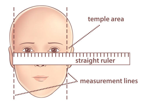 Face measurements