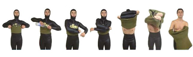 Elios Wetsuit Use & Meintenance Guide
