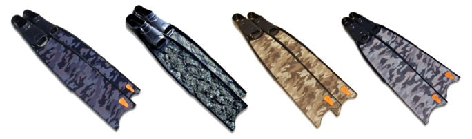 Spearfishing Fins - Choose Your Camouflage